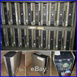 20 Bulk Lot Wholesale Dell Optiplex GX620 USFF for parts repairs free shipping