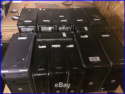 46 core 2 duo Desktop towers Various conditions NO HD's- Optiplex, HP + More
