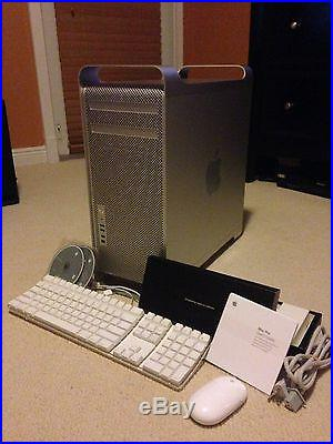 Apple Mac Pro 2x 3.0ghz Quad-core Xeon A1289 Great condition LOTS of extras