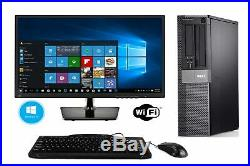 Dell Optiplex 980 Refurbished Desktop PC with New 27 inch LED Monitor Intel