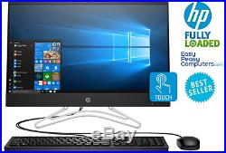 HP All in One Computer Touchscreen 24 Windows 10 8GB 1TB WEBCAM (FULLY LOADED)