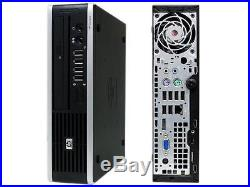 HP Compaq Elite 8000 USFF Core 2 Duo 3.00GHz 4GB Ram 160GB HDD withPower adapter