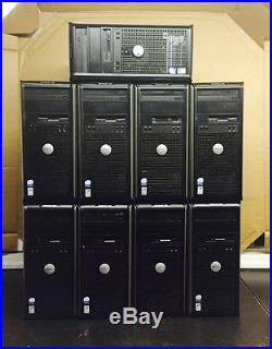 LOT OF 9 Dell Optiplex 745 Core 2 Duo 1.8GHz / 2GB RAM / No HDD