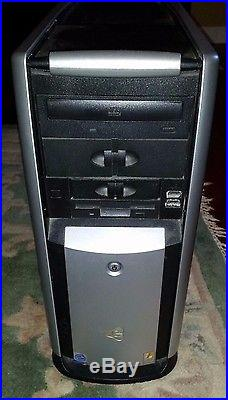 Lot of 3 Gateway, ASUS Desktop Computer Towers Only No Hard Drive Sold As Is