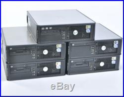 Lot of 5 Dell OptiPlex 755 SFF Core 2 Duo 2GHz 3GHz 4GB RAM 160GB HDD No OS
