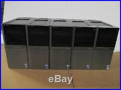 Lot of 5 Dell Optiplex 960 Tower Core 2 Duo 3.00GHz/4GB DDR2/160GB HDD Computer