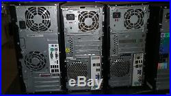 Lot of 6 Dual Core Class Tower Computers, Dell Vostro 230, HP 6000 Pro Acer